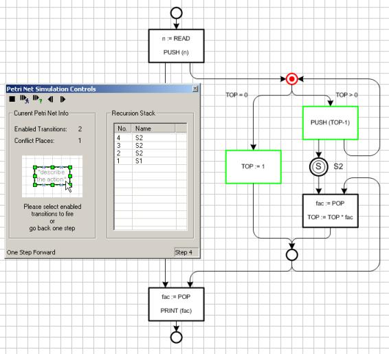 FMC Support Tools - Petri Net Simulator